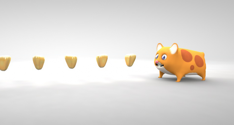Mr Nibbles 3D Development 08 – New Models and Shaders