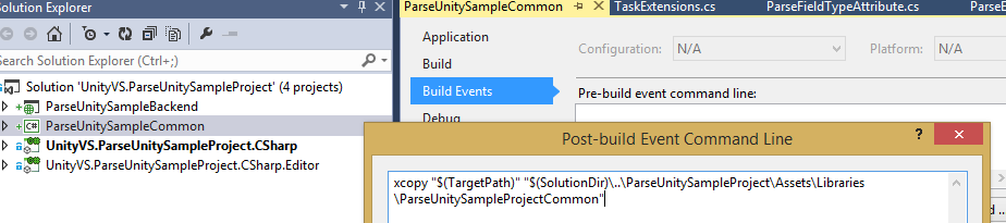 Working with Parse com in Unity 3D - Part 1 - Intro and App