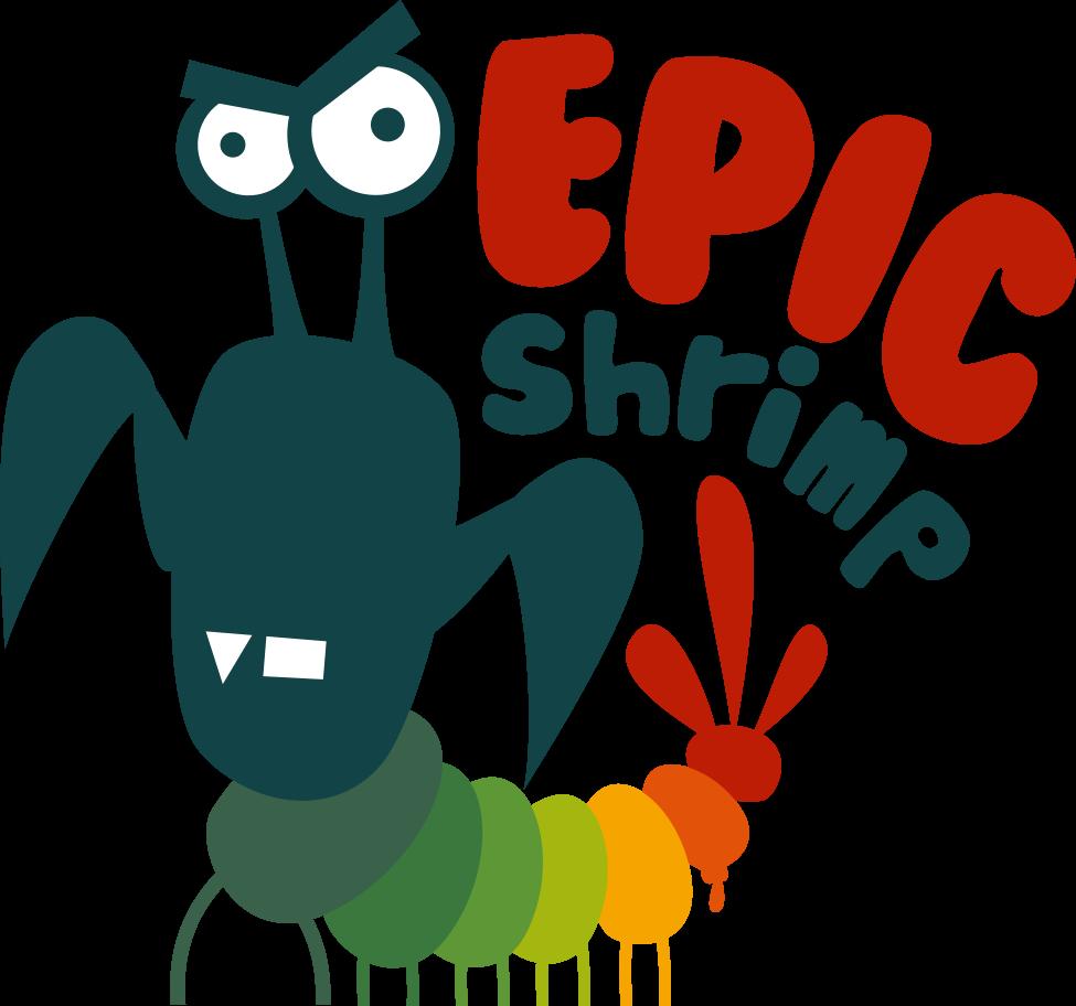epic shrimp logo