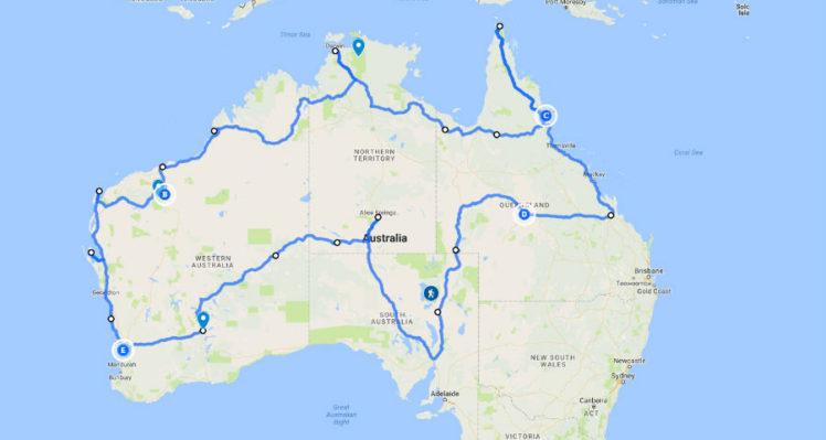 Camping Australia 2017 – The Plan